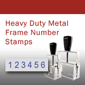 Heavy Duty Metal Frame Number Stamps