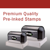 Premium Quality Pre-Inked Stamps
